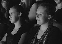 Audience Members. Copyright Philip Newton